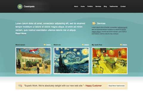 10 тем WordPress для сайта-портфолио cassiopeia тема wordpress для портфолио