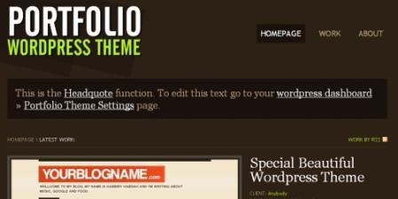 Тема WordPress для потрфолио portfolio-wordpress-portfolio-themes